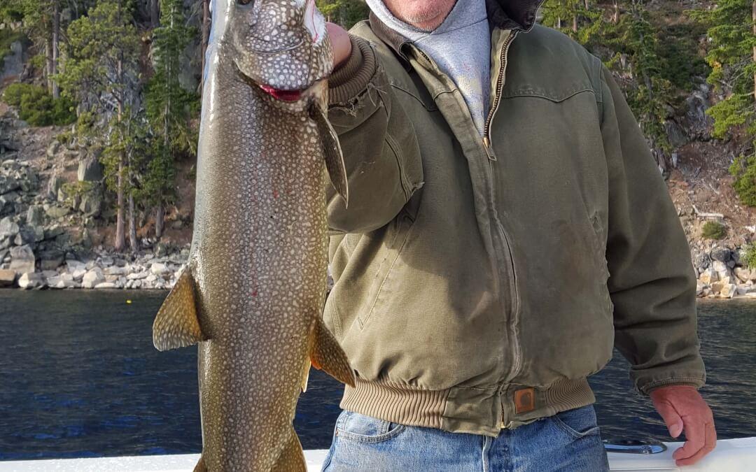 Lake Tahoe Fishing 08/30/15