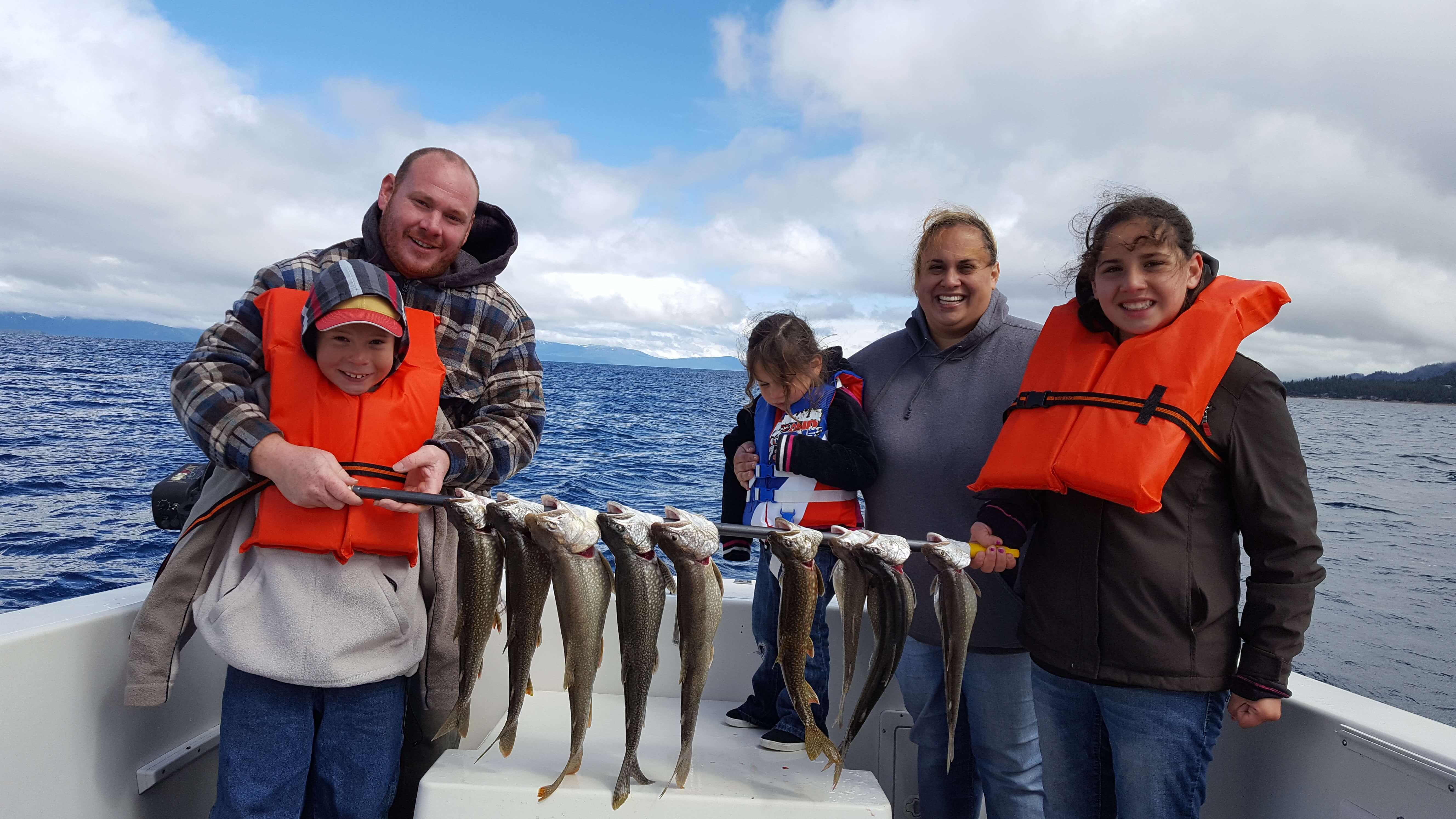 Lake tahoe fishing report lake tahoe sport fishing for Lake tahoe fishing charters