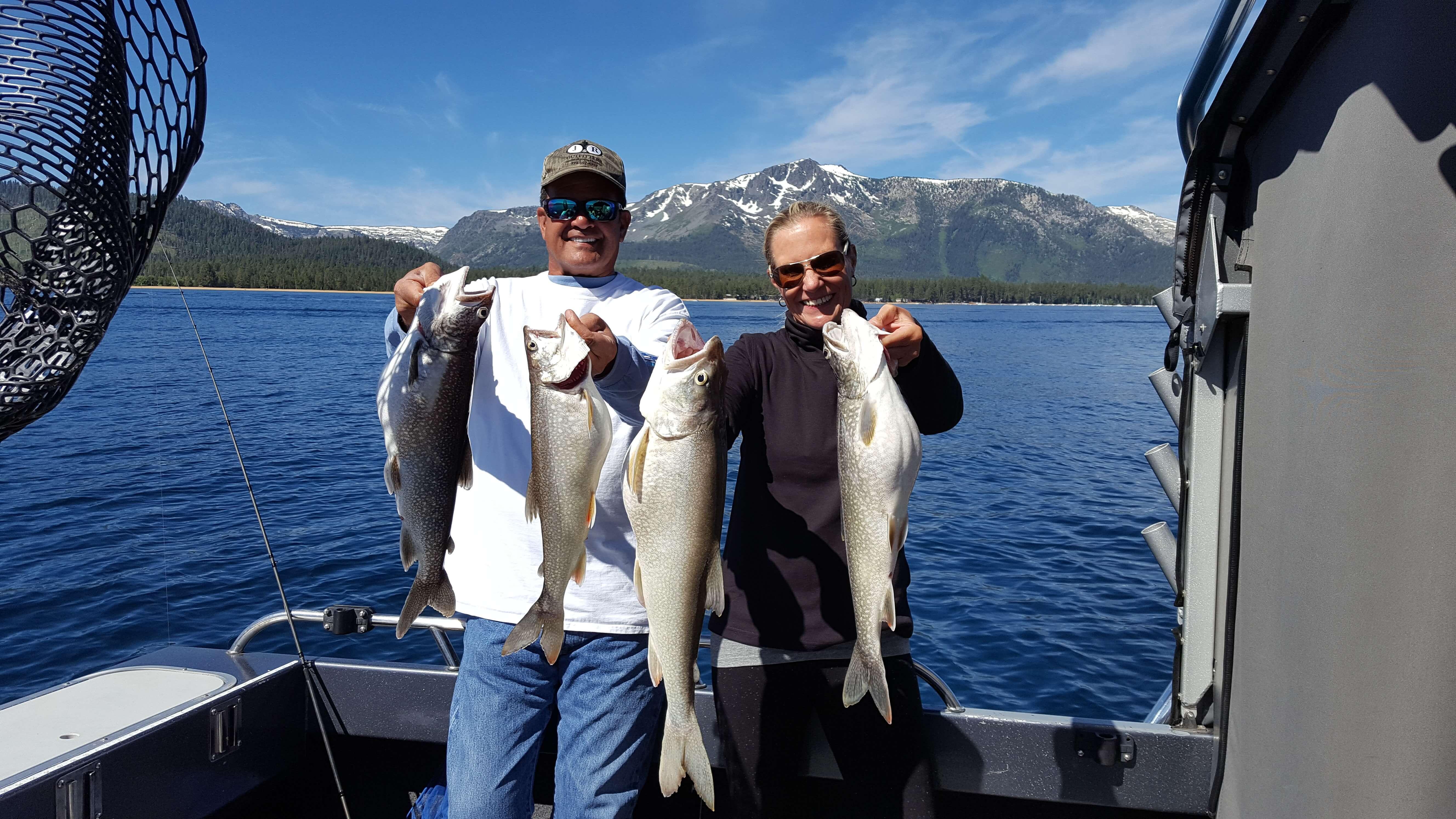 June fishing lake tahoe lake tahoe sport fishing for South lake tahoe fishing charters