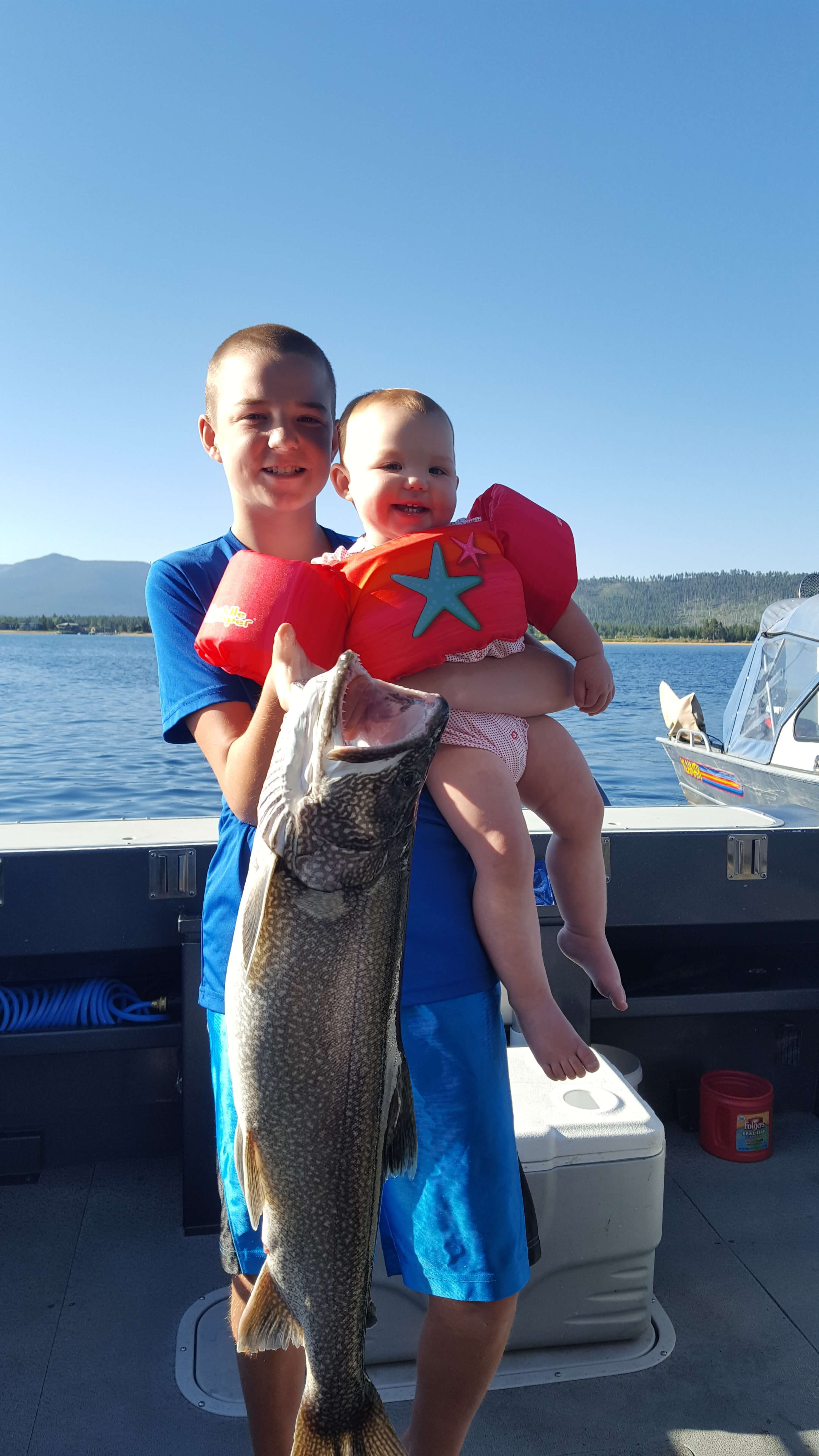 Lake tahoe fishing report eagle point sport fishing lake for Tahoe sport fishing